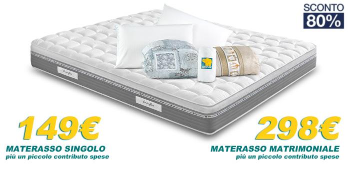 Materasso Matrimoniale Offerte Toscana.Tutti I Materassi Eminflex In Offerta A Prezzo Di Fabbrica