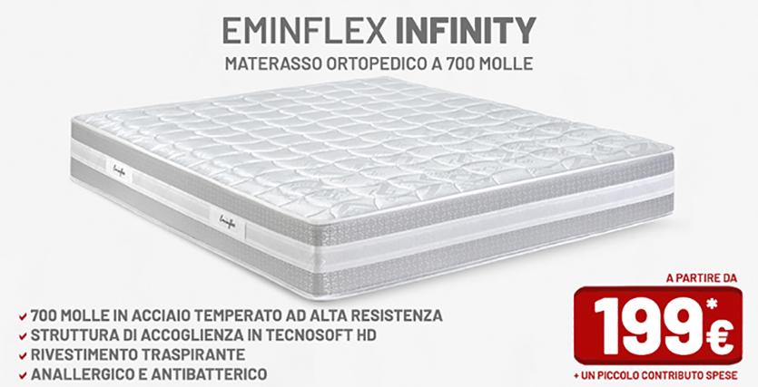 Materassi Ortopedici.Materassi Eminflex Infinity Materassi Ortopedici