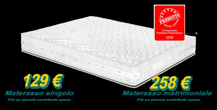 Tutti i materassi EMINFLEX in offerta a prezzo di fabbrica