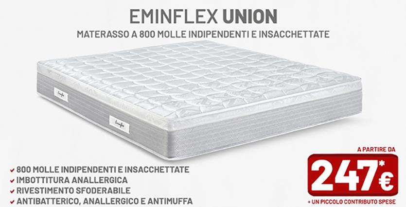 Tutti i materassi eminflex in offerta a prezzo di fabbrica for Prezzi materassi eminflex