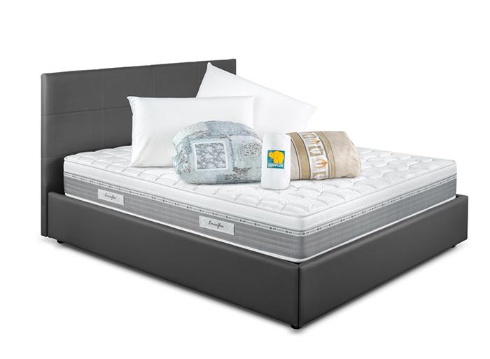 offerta letto armadio contenitore e materasso eminflex