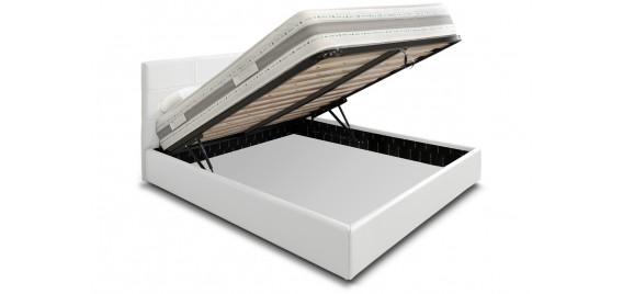 Offerta letto contenitore anna di eminflex for Prezzi materassi eminflex
