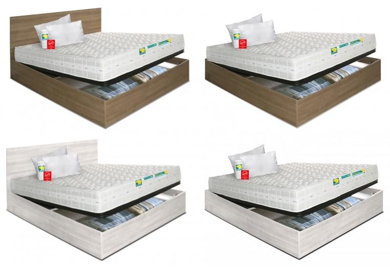 Offerta letto armadio contenitore e materasso eminflex - Letto contenitore materasso 180x200 ...