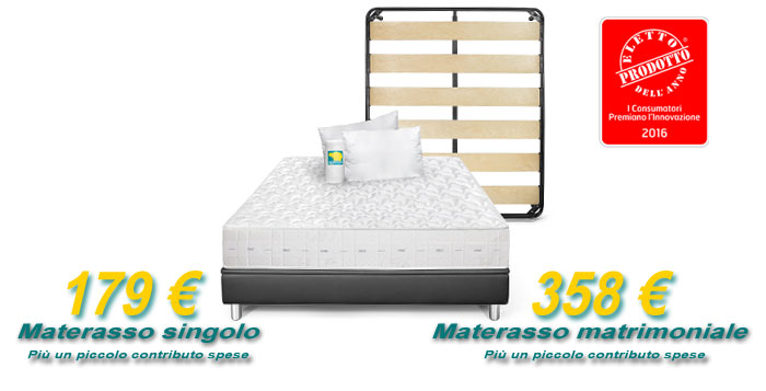 Offerta Light materasso Mito Bioenergy